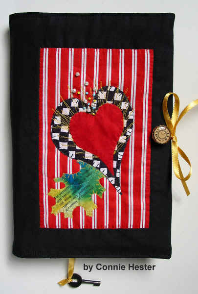 Reusable Fabric Book Cover : Cloth book covers fabric art