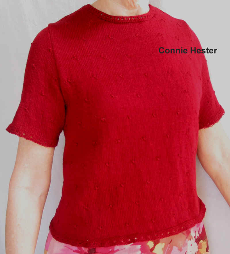 Knit T Shirt Top Pattern
