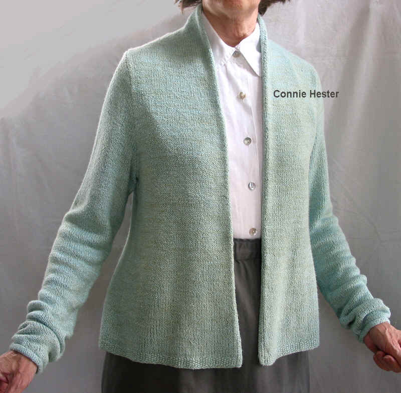 Simple Basic Cardigan Pattern