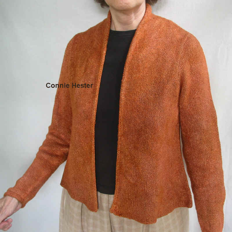 3c20291679fe Simple Basic Cardigan Pattern 3 by Connie Hester