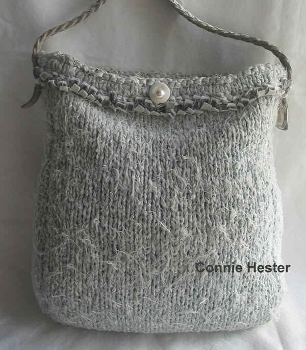 Knit with Fabric - Purses